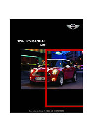 2009 mini cooper owners manual just give me the damn manual