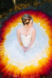 dip dye wedding dress dipdye wedding dress interestingasfuck