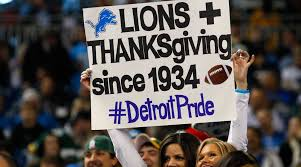 detroit lions thanksgiving day in pictures si