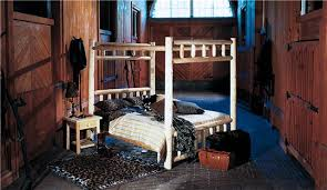rustic natural cedar log bedroom furniture