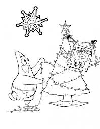 patrick spongebob decoration christmas tree