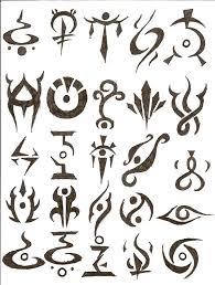 symbol tattoos by icemo on deviantart