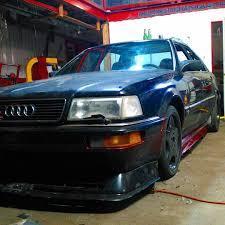 audi v8 turbo 1990 audi with a turbo lsx v8 update engine depot