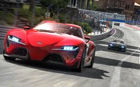 toyota supra drawing gamers first to drive new toyota supra