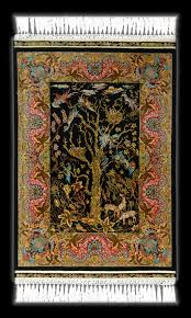 Hanging Rugs On A Wall Silk Rugs Art For The Floor And Wall