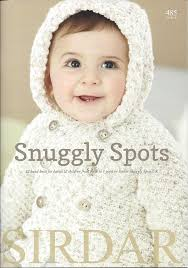 sirdar snuggly spots dk knitting pattern 4567 cardigans amazon
