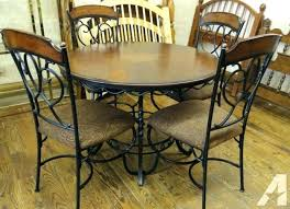 wrought iron dining room table wrought iron kitchen chairs thegoodcheer co