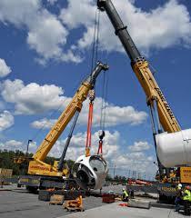 crane rental corporation grove gmk 7550 and grove gmk 5240 lifting