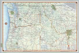 Map Of Northwest Us Wall Map Of Northwest States Northwestern States Topo Map