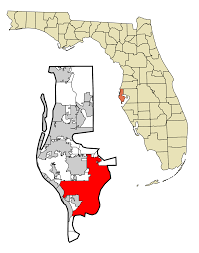 Map Of St Petersburg Florida by File Pinellas County Florida Incorporated And Unincorporated Areas