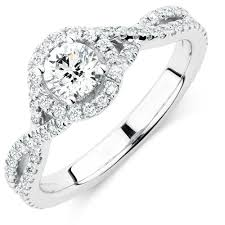 swirl engagement rings twist swirl engagement rings michael hill jewelers