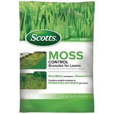 scotts 5 000 sq ft moss control granules 31015 the home depot