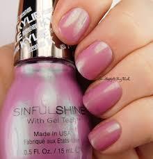 sinful colors sinful shine miss majesty nail polish swatch