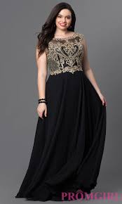 gown style dresses plus size prom dress with embroidery promgirl
