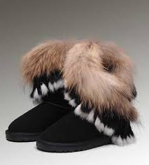womens ugg boots clearance sale discontinued ugg boots clearance sale fox fur 8288 black
