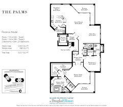 Florida Floor Plans The Palms Floor Plans Luxury Oceanfront Condos In Fort Lauderdale