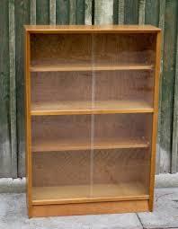Mahogany Effect Bookcase Delightful Mid Century Herbert Gibbs Mahogany Glazed Bookcase