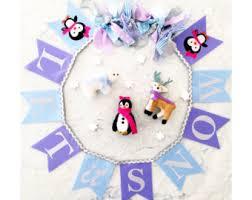 Penguin Baby Shower Decorations Baby Shower Banner 1st Birthday Banner First Birthday