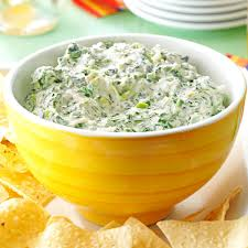 halloween party dip jalapeno spinach dip recipe taste of home