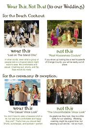 wedding dress code wedding dress code 5 clever ways to tell guests what to wear