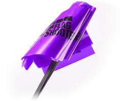 Purple Flag Straight Flags Flagshooter