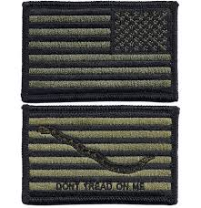 Army Uniform Flag Patch Usgi Us Navy Flag U0026 First Navy Jack Embroidered Patch Combo Nwu