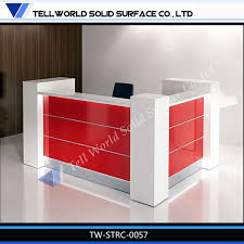 Cheap Salon Reception Desks by China Sale New Design Commercial Furniture Small Nail Salon