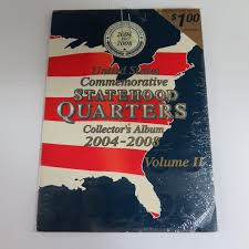 State Series Quarters Collector Map by Vol 2 United States Commemorative Statehood Quarters Collector