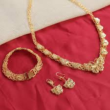 wedding gold sets gold wedding jewelry sets necklace caymancode