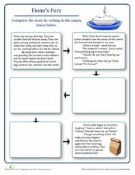 finish the story the forest the forest worksheets and 4th