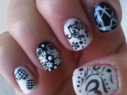 29 original cool black and white nail designs u2013 slybury com