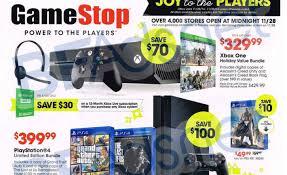 gamestop s black friday sale ads leaked