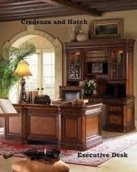 executive desk and credenza foter