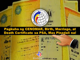 psa si e social acquiring birth certificate marriage certificate certificate