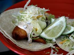 lua los angeles blue moon beer battered fish tacos