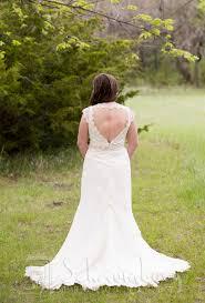 stacie u0027s custom gown with heirloom lace