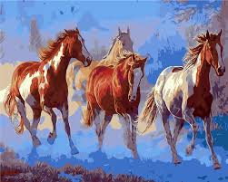 Horse Decorations For Home by Online Get Cheap Abstract Horse Painting Aliexpress Com Alibaba