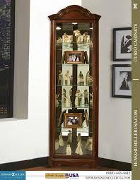cherry wood china cabinet cherry wood small corner curio cabinet 680495 murphy