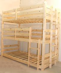Easy And Strong 2x4 U0026 2x6 Bunk Bed 6 Steps With Pictures by Pandora 3ft Single 3 Tier Heavy Duty Solid Pine High Triple