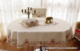 tablecloth for oval dining table wholesale fashion elliptical table cloth oval dining table cloth