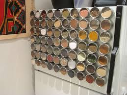 kitchen magnetic spice rack organizing spices use creative