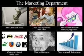 What We Think We Do Meme - marketing department meme 3 blogging small business web design