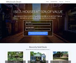 Real Estate Responsive Website Templates by Best Real Estate Investor Website Templates