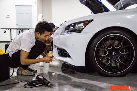 lexus ultra white paint lexus f sport clear bra paint protection u0026 cf roof overlay