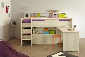 hochbett mit schreibtisch und sofa haus renovierung mit modernem innenarchitektur geräumiges