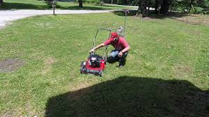 yard machines push mower test and review youtube