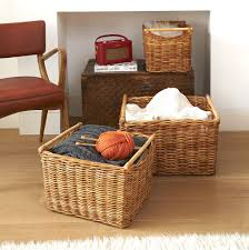 ideas storage shelves with baskets also wicker basket storage and