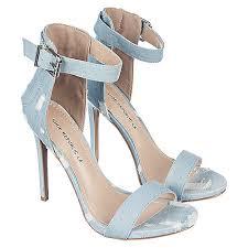 Shoe Republic La Edwin Women S Light Blue Denim High Heel Dress Shoe