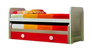 amazoncom double kid trundle bed w frame and bottom drawers   with double kid trundle bed w frame and bottom drawers  beds double trundle  bed from amazoncom