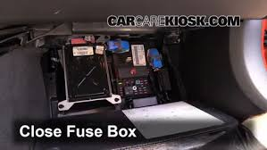 interior fuse box location 2004 2009 cadillac xlr 2005 cadillac